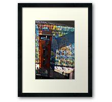 La Voiture dans La Fenetre   Gare Lille Europe  Framed Print