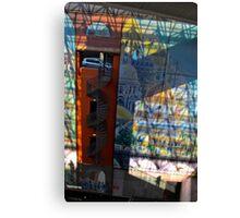 La Voiture dans La Fenetre   Gare Lille Europe  Canvas Print