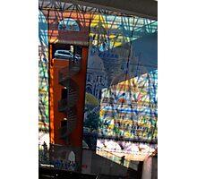 La Voiture dans La Fenetre   Gare Lille Europe  Photographic Print