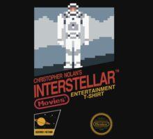 8-bit Interstellar by Paweł Iwaniuk