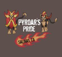 """Pyroar's Pride"" - Salinas, CA Pokemon League Kids Clothes"