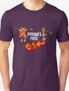 """Pyroar's Pride"" - Salinas, CA Pokemon League T-Shirt"