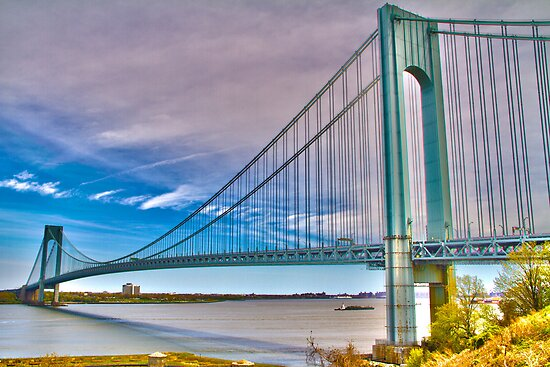 Verrazano Bridge HDR1 by DmitriyM