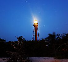 Point Ybel Light by kathy s gillentine