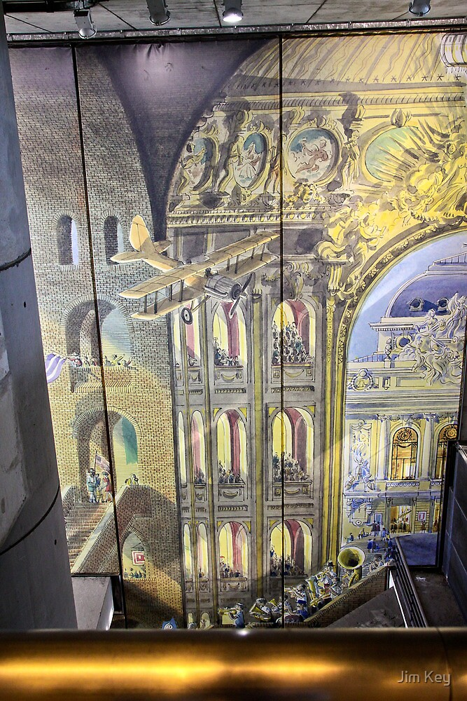 Wall Mural - Gare Lille Europe by James  Key