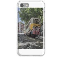 Lisbon Train Car 1 iPhone Case/Skin