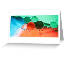 Other Worlds II - abstract Greeting Card
