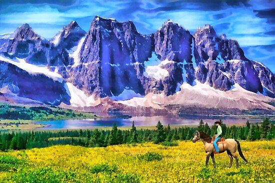 Mountain Cowboy by Walter Colvin