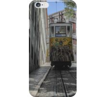 Lisbon Train Car 3 iPhone Case/Skin