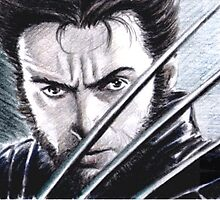 Hugh Jackman as Wolverine PSC by wu-wei