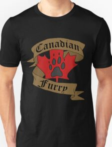 Canadian Furry Unisex T-Shirt