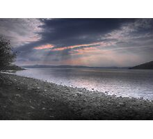 Applecross Sunset Photographic Print