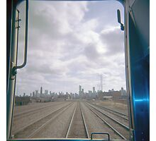 All Aboard the Holga Train  Photographic Print