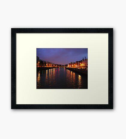Dublin Nights Framed Print