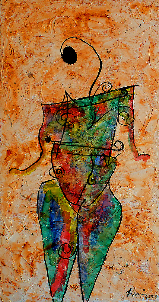 Nude (view large) by ☼Laughing Bones☾