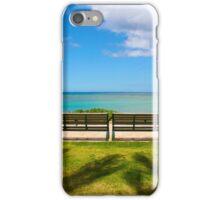 Waikiki Beach, Honolulu HAWAII iPhone Case/Skin