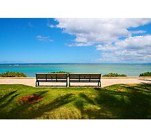 Waikiki Beach, Honolulu HAWAII Photographic Print
