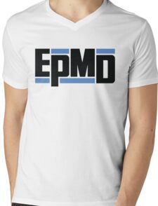 EPMD big logo Mens V-Neck T-Shirt
