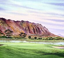 Koolau Golf Course Hawaii  by bill holkham