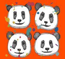 splatter pop panda cookies Kids Clothes