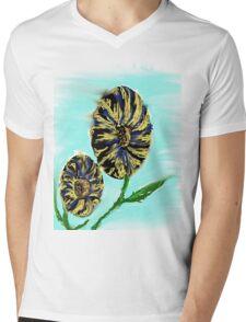 flowers for my girl Mens V-Neck T-Shirt
