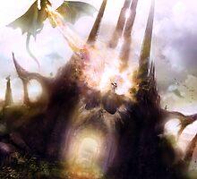 Dragon spire by James Suret