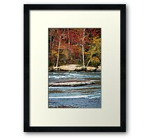 Autumn on the Cumberland River Framed Print