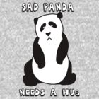 Sad Panda Needs A Hug by Krydel