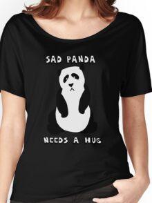 Sad Panda Needs A Hug Women's Relaxed Fit T-Shirt