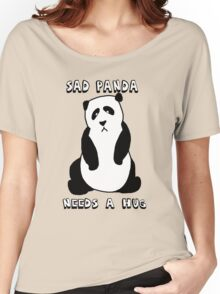 Sad Panda Needs A Hug Women's Relaxed Fit T-Shirt