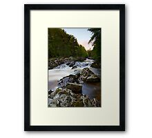 The Falls of Feugh at Banchory Aberdeenshire Framed Print