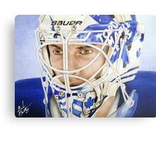 Jonas Gustavsson (Toronto Maple Leafs) Metal Print