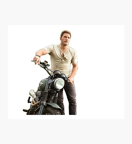 Chris Pratt Photographic Print