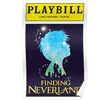 Finding Neverland Playbill Poster