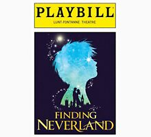 Finding Neverland Playbill Unisex T-Shirt