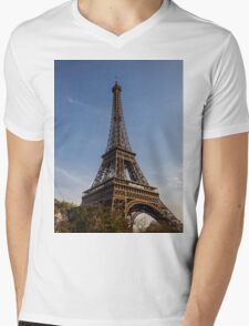 Eiffel Tower (Paris) Mens V-Neck T-Shirt