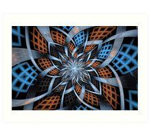 Portals Basket Art Print