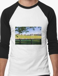 Kentucky Horse Farm Men's Baseball ¾ T-Shirt