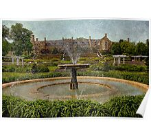 Masonic Lodge & Formal Gardens, Masonic Village Elizabethtown, PA Poster