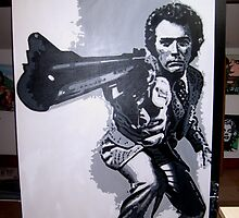Dirty Harry by db artstudio by Deborah Boyle