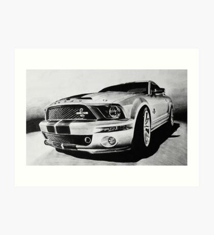 Shelby Mustang GT-500 KR Art Print
