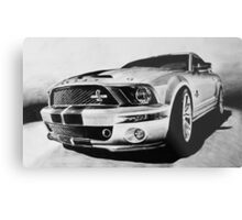 Shelby Mustang GT-500 KR Metal Print