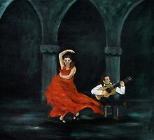 """Flamenco"" (detail) by Gabriella Nilsson"