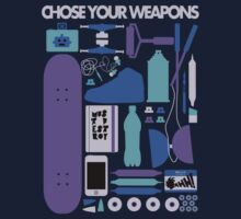 Chose Your Weapons - New Colours One Piece - Short Sleeve