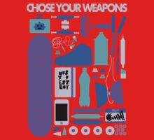 Chose Your Weapons - New Colours Baby Tee