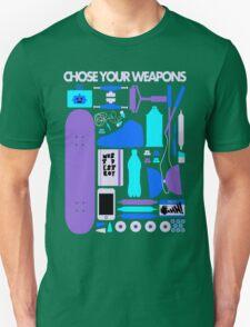 Chose Your Weapons - New Colours Unisex T-Shirt