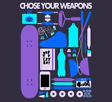 Chose Your Weapons - New Colours T-Shirt