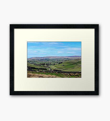 England - Yorkshire Dales Framed Print