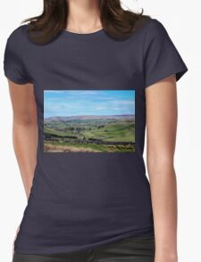 England - Yorkshire Dales Womens Fitted T-Shirt