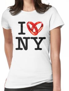 I <3 NY Womens Fitted T-Shirt
